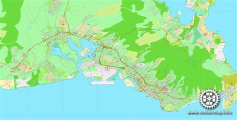 printable map honolulu honolulu oahu hawaii printable vector street map city