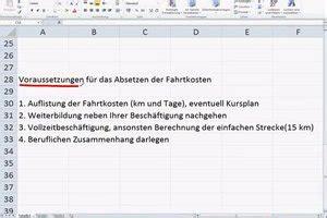 Vorlage Antrag Weiterbildung Kinderbetreuungskosten Und Fahrtkosten In Der Steuererkl 228 Rung Angeben So Geht S