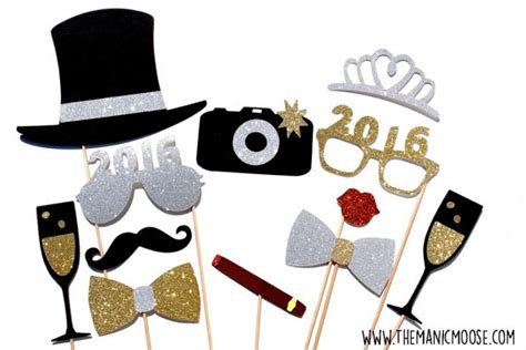 new years eve photo booth props new years eve party new new years eve photo booth props silver and gold you choose