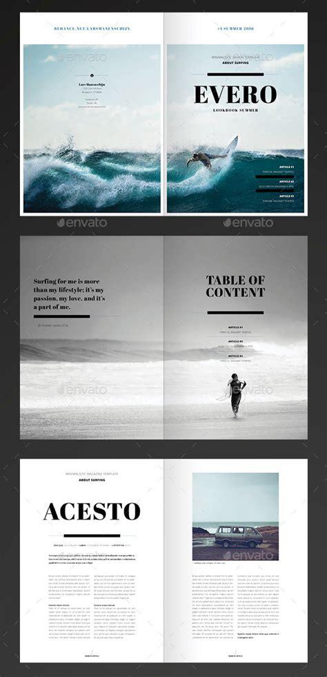 20 amazing indesign magazine layout cover design