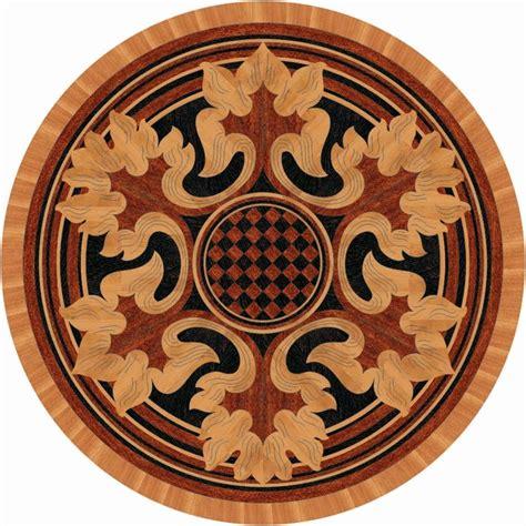 Floor Medallion by Hardwood Floor Medallion Floor Medallions And Inlays