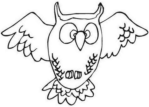 owl coloring pages preschool an owl for preschool coloring pages