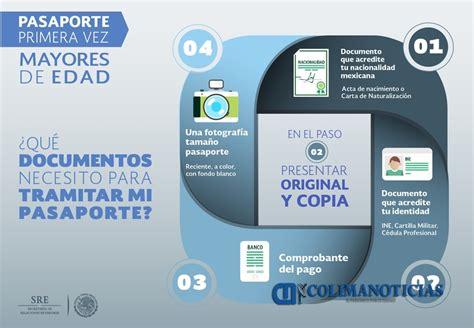requisitos para el pasaporte mexicano 2016 la sre invita a planear anticipadamente el tr 225 mite del