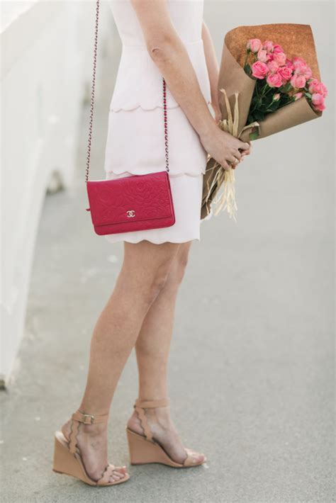 pink dress for valentines day s day pink scalloped dress from club monaco
