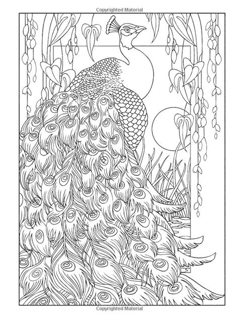 Creative Coloring Pages For Adults creative peacock designs coloring book creative