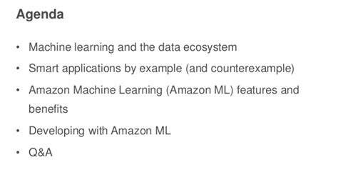 amazon machine learning build a recommendation engine using amazon machine