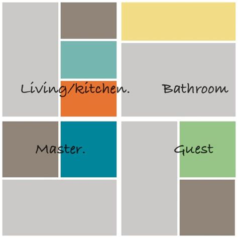 how to coordinate paint colors paint colors color palettes pinterest