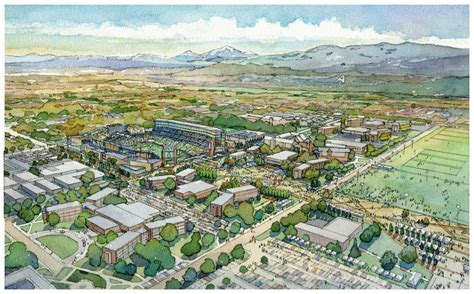 Colorado State Sports Mba by Populous Retained For Colorado State Football