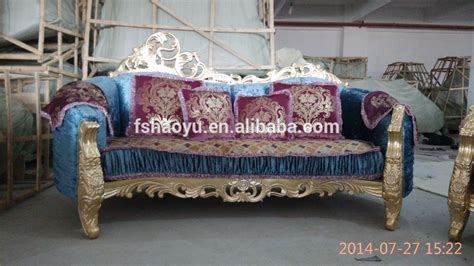 2015 fancy wooden sofa set design bisini luxury furniture
