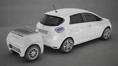 Mini E Autos by Ep Tender S Mini Trailer Is A Portable Range Extender For