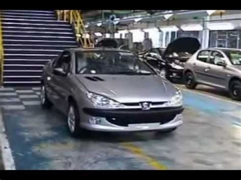 peugeot factory peugeot 206 production factory youtube