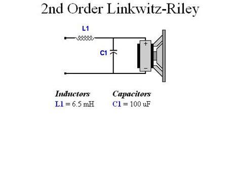 passive subwoofer crossover circuit diagram circuit and
