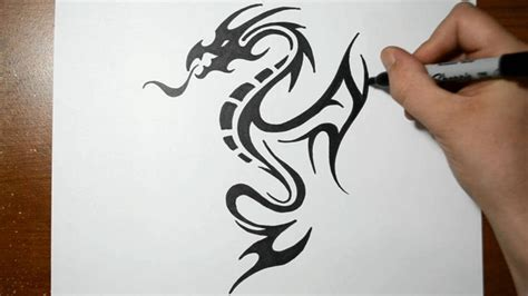 draw tattoo easy drawing with markers amazing