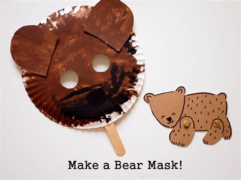 How To Make A Paper Plate Mask - 3 easy hunt activities with printables pink