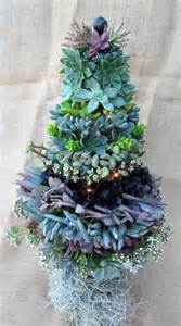 items similar to succulent christmas tree 12 inch on etsy