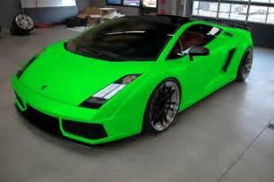 Lamborghini Lime Green Paint Code Lime Green Prestige Cars