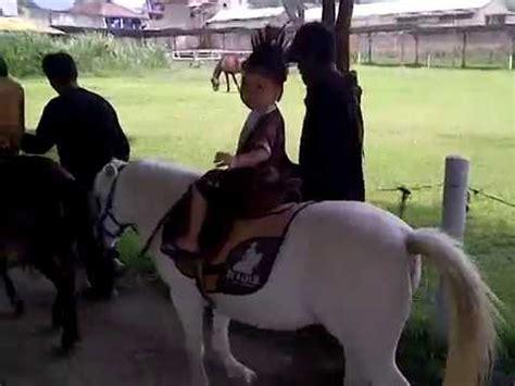 Sho Kuda Poni Anak dhanuwirya wisata kuda poni lembang