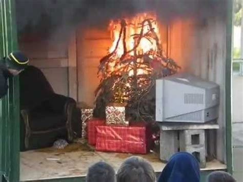 are christmas lights a fire hazard christmas tree lights catch fire fire safety promotional