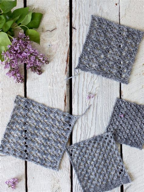 easy lace knitting patterns how to make an easy lace knit shawl pattern flax twine