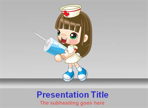 ppt templates free download nurse medical powerpoint template powerpoint templates free
