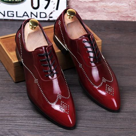 Pointed Genuine Leather Oxfords new 2016 brogues shoes pointed toe genuine leather