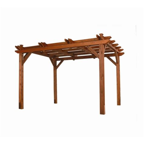 pergola at lowes heartland microshades wooden pergola from lowes pergolas structures outdoor