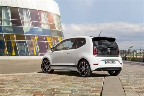 volkswagen smallest car vw s smallest hatch the new up gti goes on sale in