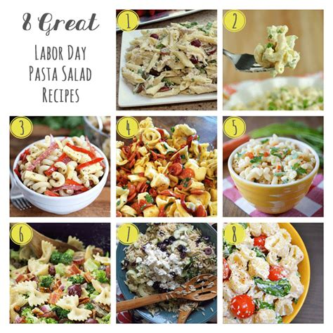 Great Pasta Salad Recipes by Labor Day Recipes 8 Great Extravaganza