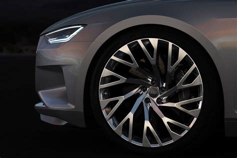 audi prologue concept wheel design car body design