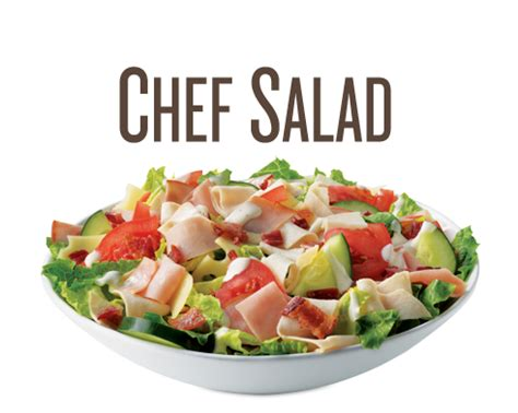 salad chef quiznos salad menu healthy salads