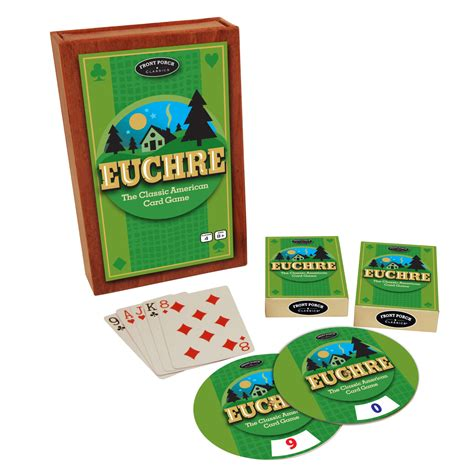 how to play euchre a beginnerã s guide to learning the euchre card scoring strategies to win at euchre books front porch classics euchre the classic american card
