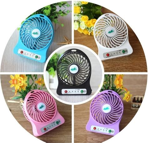 Kipas Angin Kecil Baterai universal battery cell cooling fan 18650 battery white lazada indonesia