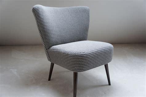 fauteuil tissu vintage fauteuil cocktail vintage tissu grosse maille meubles et rangements par caroline courroy