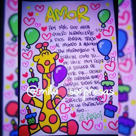 imagenes para mi novio x su cumple creatividad amorosa decoraci 243 n tarjetas pinterest