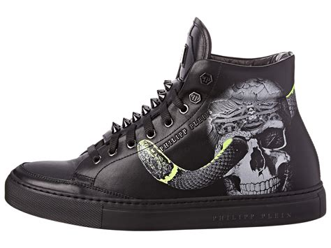 philipp plein sneakers philipp plein would high top sneakers in black for