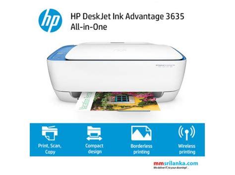 Hp Deskjet Ink Advantage All In One Printer K209a hp deskjet ink advantage 3635 all in one printer