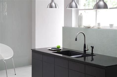 modern kitchen kraus kgu new black composite kitchen kraus kgu 434b undermount double bowl black onyx granite