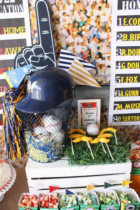 sports themed decorations kara s ideas sports planning ideas supplies