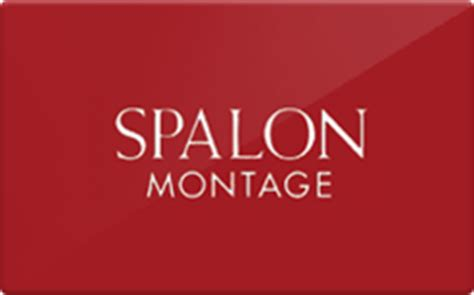 Montage Gift Card - spalon montage gift card check your balance online raise com