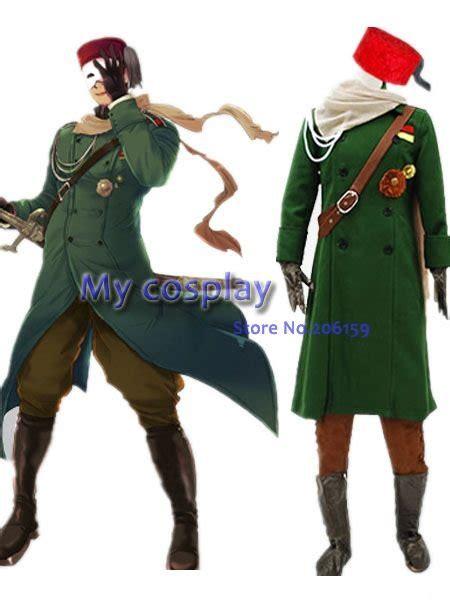 axis power hetalia turkish military uniform cosplay