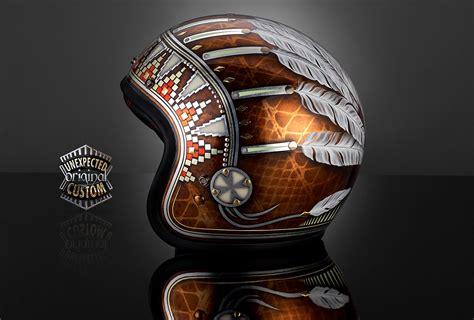 Indian Motorrad Helm by Indian Bell Custom 500 Custom