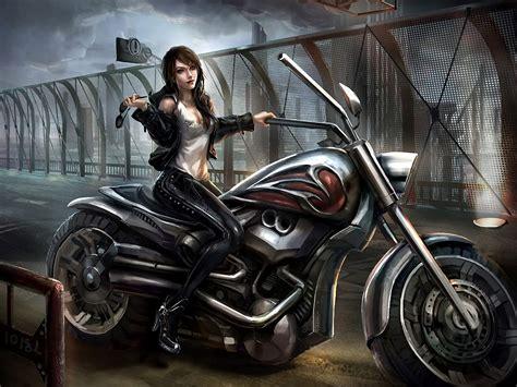 Kaos Anime Harley Davidson 00 motorcycle goggles bridge original wallpaper 1920x1440 84776 wallpaperup