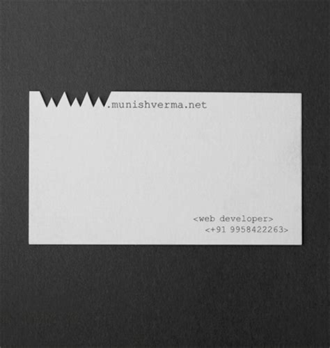 Clever Business Cards