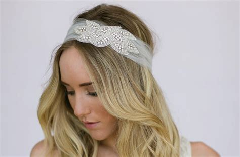 how to wrap wedding hair tulle wedding hair wrap with crystal accent onewed com