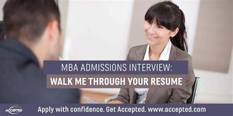 Walk Me Through Your Resume Mba mba admissions walk me through your resume
