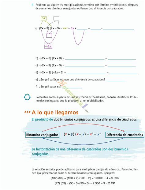 libro de matematicas tercer grado telesecundaria volumen 2 matematicas iii tercero de secundaria ejercicios