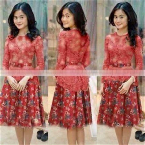 Baju Batik Kebaya Modis Trendi Denia 10 Model Kebaya Modern 2016 Terbaru Untuk Remaja Model