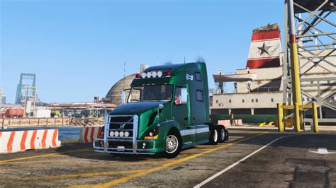 volvo vnl  truck livery extras add  replace gta modscom