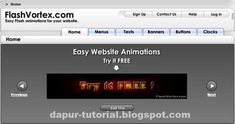 tutorial animasi flash keren cara mudah membuat banner animasi keren tutorial dan