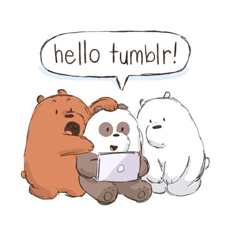 cartoon panda bears network we bare 140 best images about we bare bears on